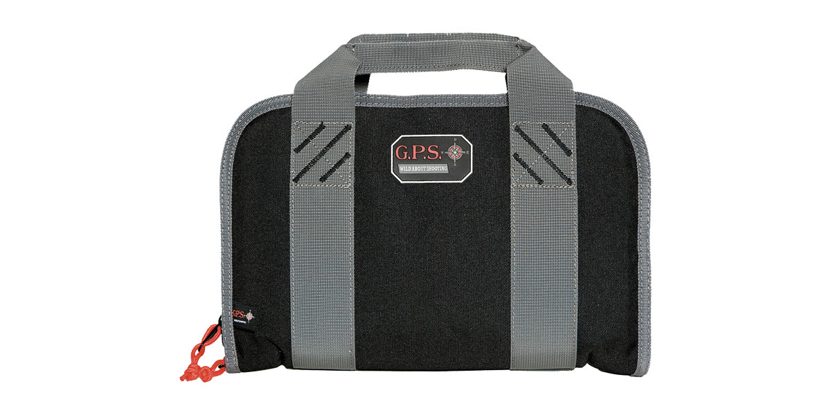 G-Outdoors Inc. Soft Pistol Case, Black, Fits Up to 2 Pistols