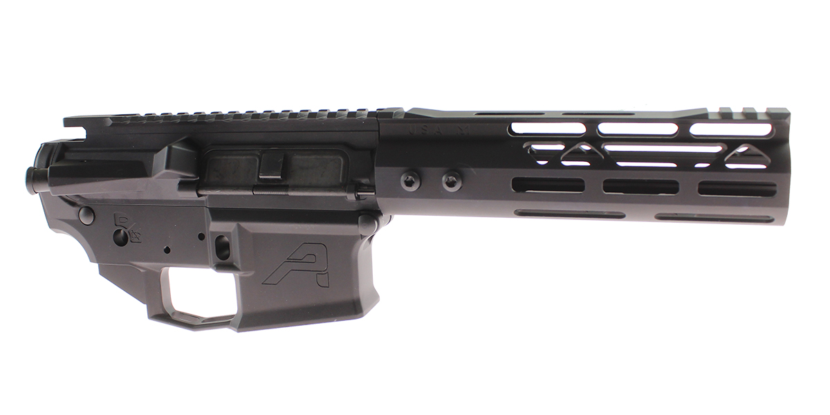 DD Custom Arms AR-15 Builder Set Featuring Aero Precision M4E1 Upper and Lower Receivers, Guntec 7