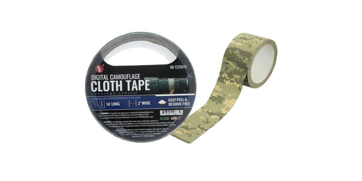 SE Cloth Tape Digital Camouflage - 2
