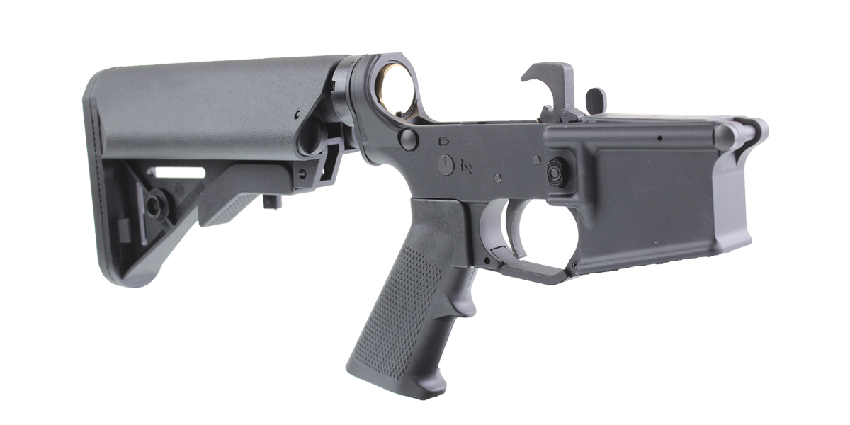 DD Custom Arms AR-15 Rifle Lower Receiver Build Kit Featuring MMC Armory MA15 Lower Receiver Davidson Defense Buttstock KAK Industries LPK (Assembled or Unassembled)