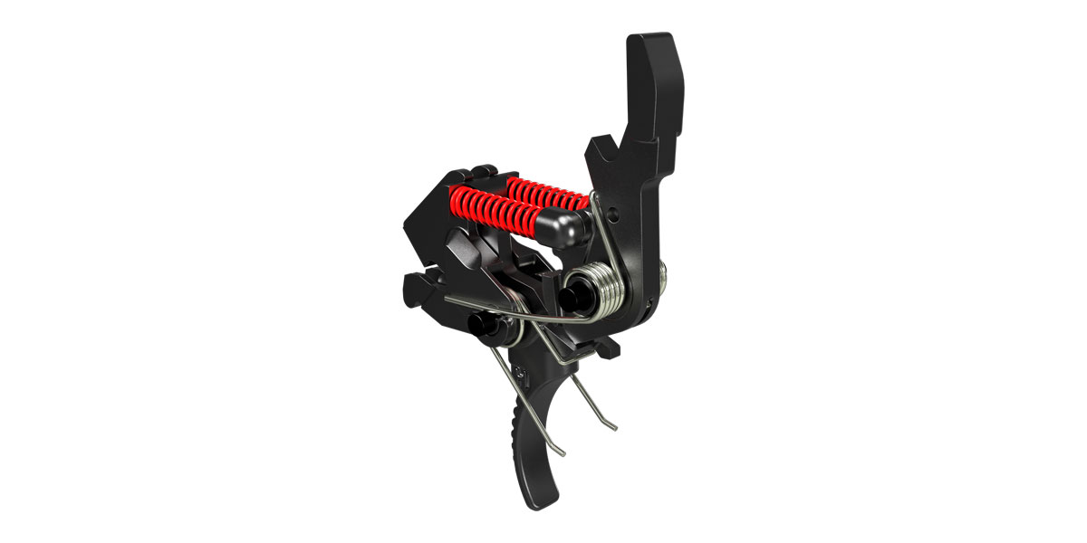 Hiperfire Hipertouch Reflex 3.5 Lbs to 2.5 Lbs Match Trigger System For AR-15 & LR-308  (Formerly 243G Trigger)