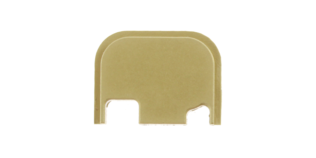 TF Tactical Glock Aluminum Slide Cover Plate Gen 4 - Gold Anodized
