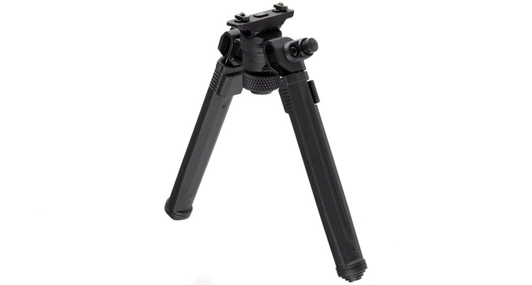 Magpul Industries, Bipod, Hard Anodized 6061 T-6 Aluminum, Fits M-LOK Rails