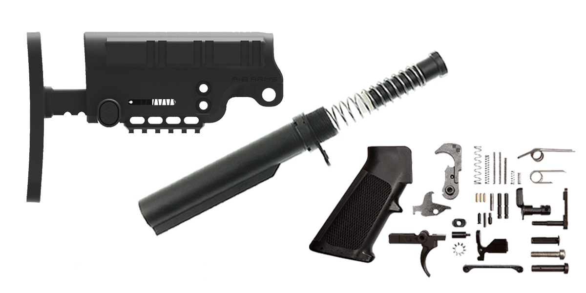 A*B Arms AR-15 Urban Assault Finish Your Lower Rifle Kit