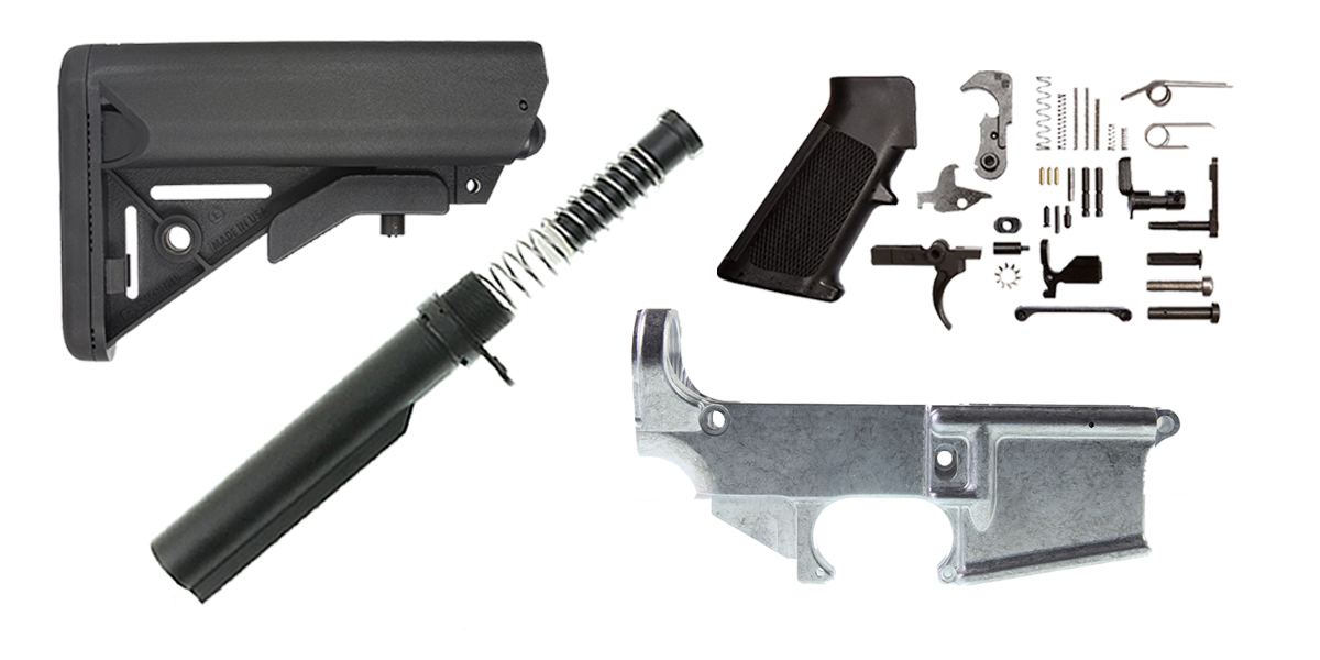 Custom Deal Davidson Defense AR-15 Finish Your 80% Lower Kit