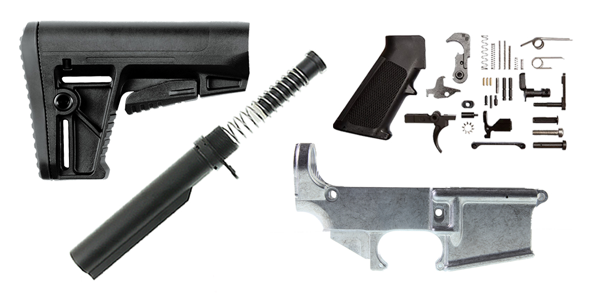 Combo Deal Kriss Arms AR-15 Finish Your 80% Lower Kit