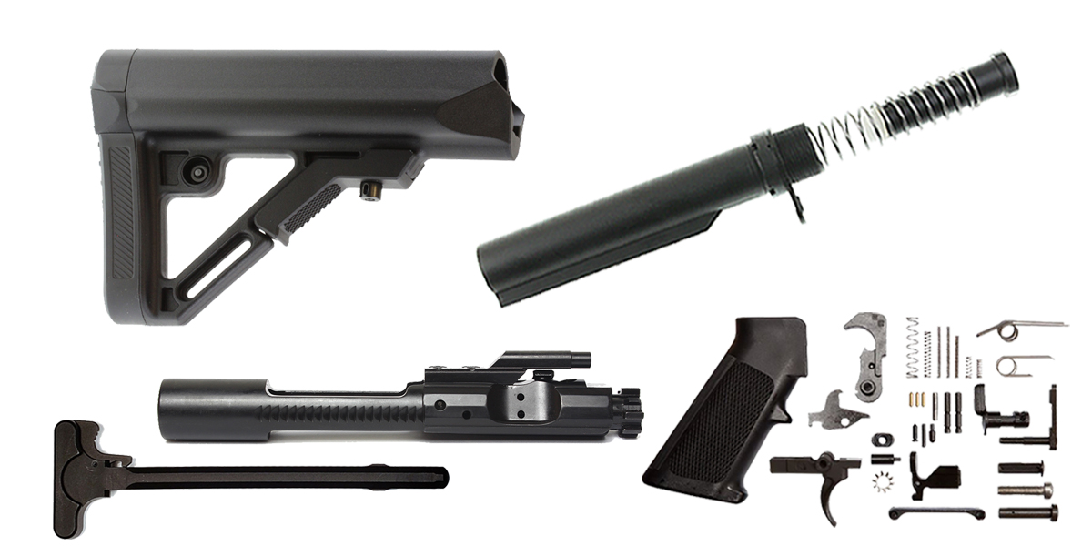 Custom Deal UTG Pro AR-15 Finish Your Rifle Build Kit - 5.56/.223/.300/.350