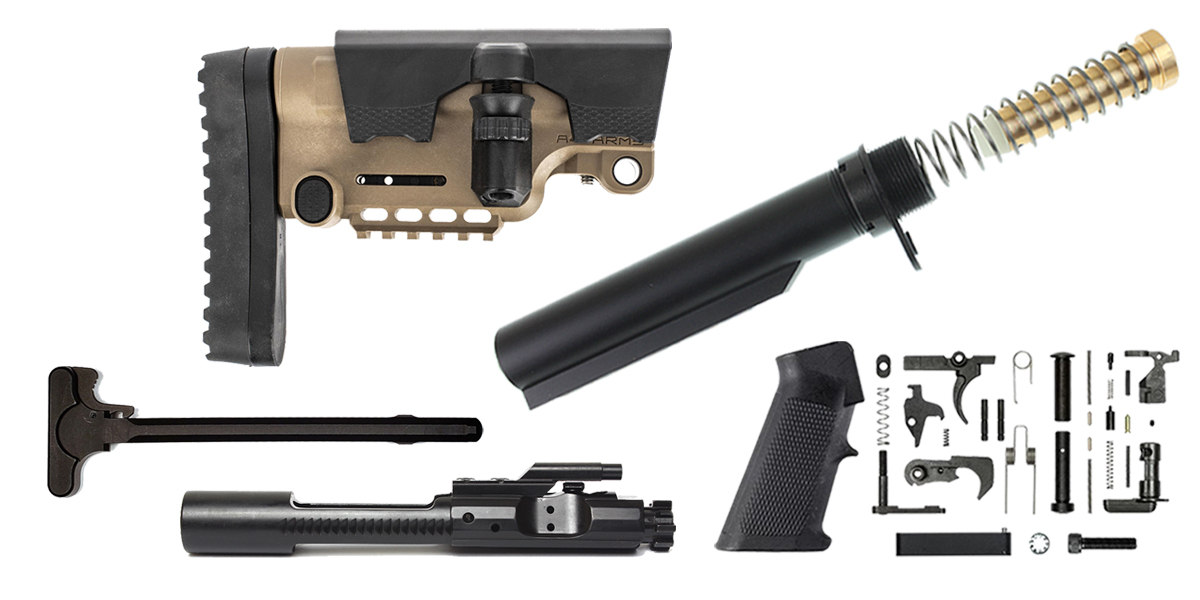 Custom Deal A*B Arms AR-15 Urban Sniper Stock Finish Your Rifle Build Kit - 5.56/.223/.300/.350