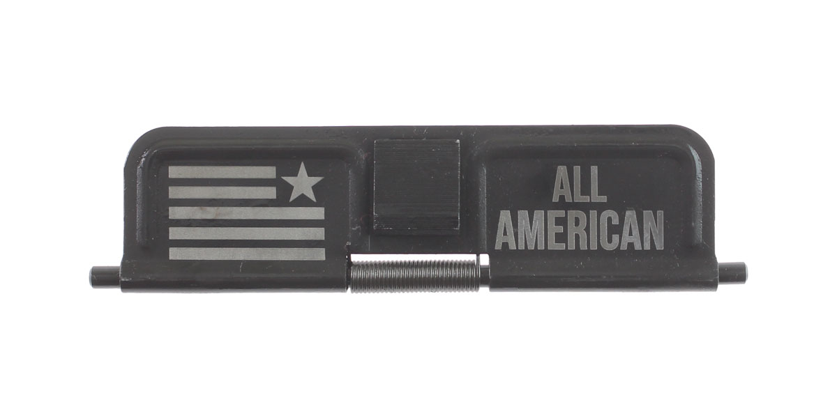 Custom Deal AR-15 Custom Engraved KAK Industries Dust Door - ALL AMERICAN