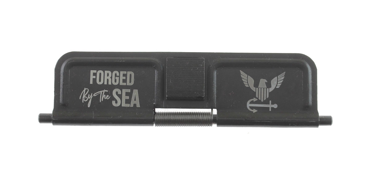 Custom Deal AR-15 Custom Engraved KAK Industries Dust Door - Forged By The Sea
