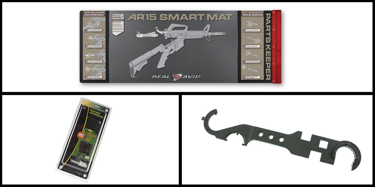 Custom Deal Real Avid Smart Mat + Remington Field Rod Kit + AIM Sports AR-15 Enhanced Rail Tool