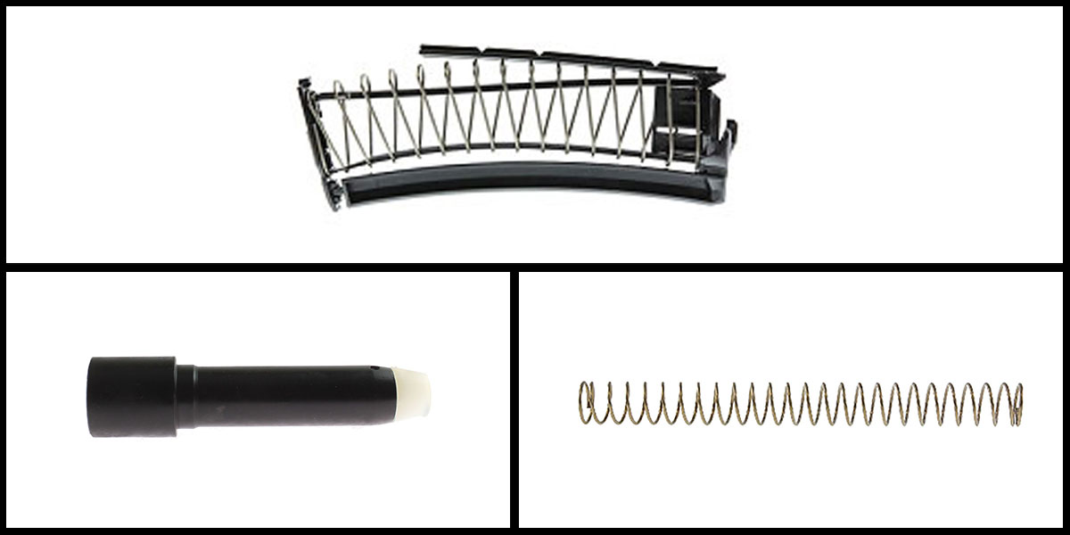 Custom Deal Mean Arm's EndoMag 9mm PMAG Conversion Kit + 8oz 9mm Buffer - Black + Luth-AR 308 Carbine Buffer Spring
