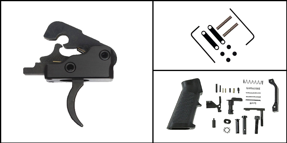 Custom Deal AR-15 Trigger Upgrade Kit Including Davidson Defense Uintah