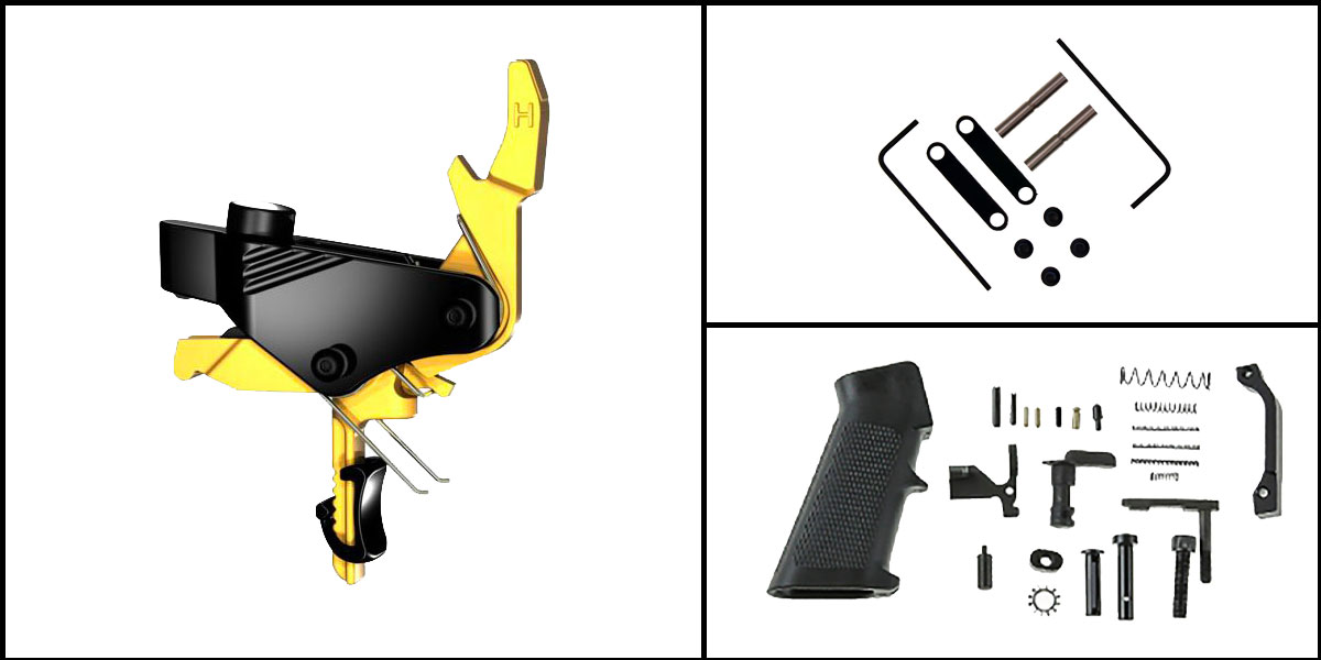 Custom Deal AR-15 Trigger Upgrade Kit Including Hiperfire