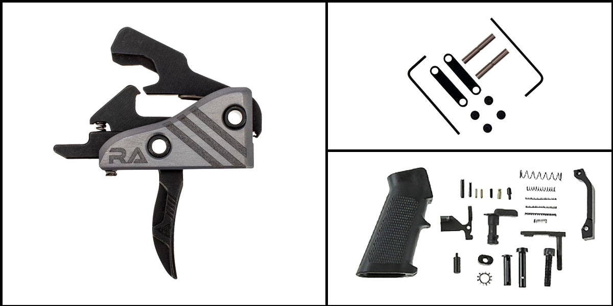 Custom Deal AR-15 Trigger Upgrade Kit Including RISE Armament Blitz Elite Performance Trigger +