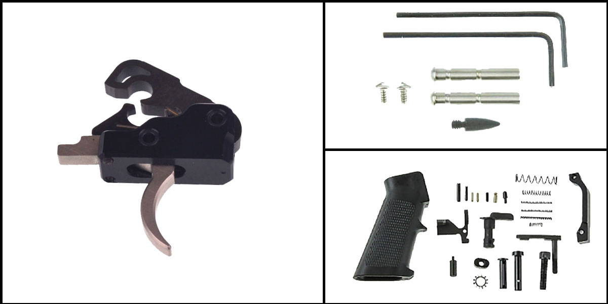 Custom Deal AR-15 Trigger Upgrade Kit Including Davidson Defense