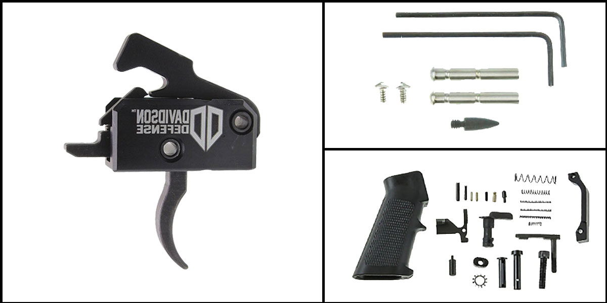 Custom Deal AR-15 Trigger Upgrade Kit Including Davidson Defense Phantom