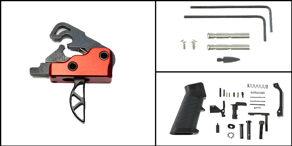 Custom Deal AR-15 Trigger Upgrade Kit Including Davidson Defense Sierra