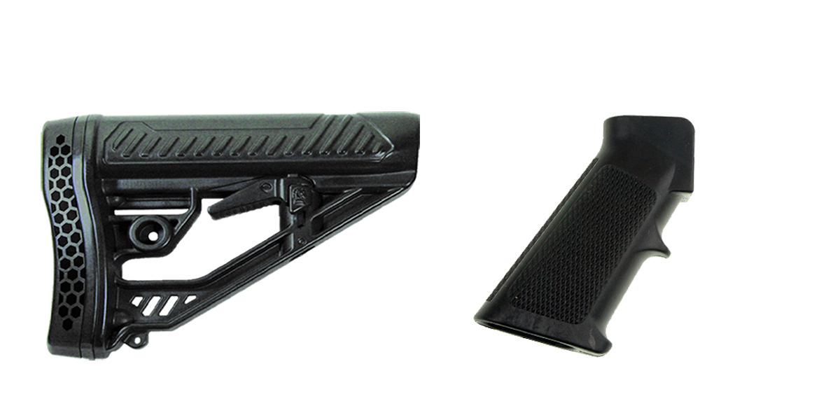 Custom Deal Stock and Pistol Grip Furniture Set: Featuring Adaptive Tactical + MMC Armory