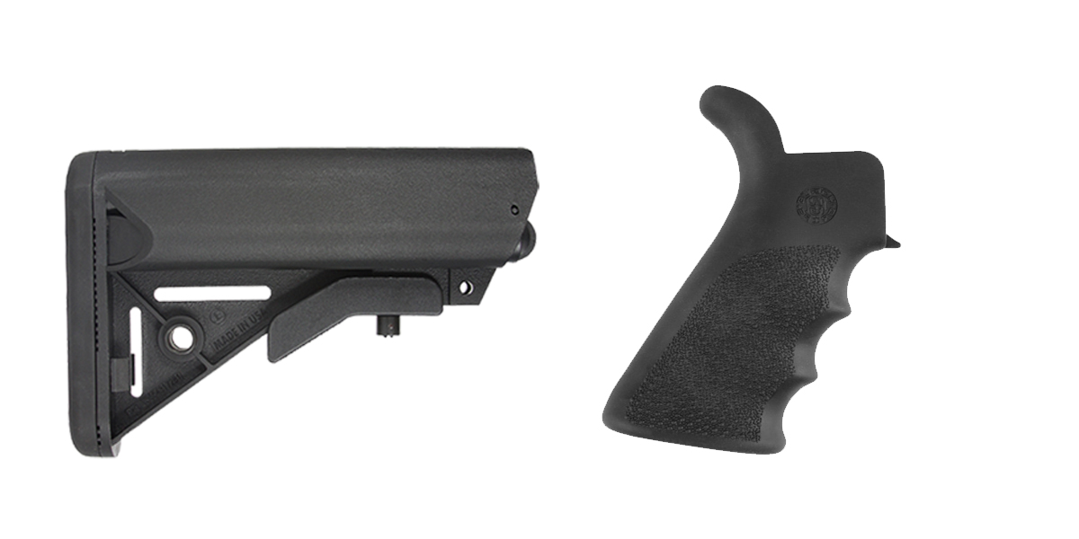Custom Deal Stock and Pistol Grip Furniture Set: Featuring JE Machine + Hogue