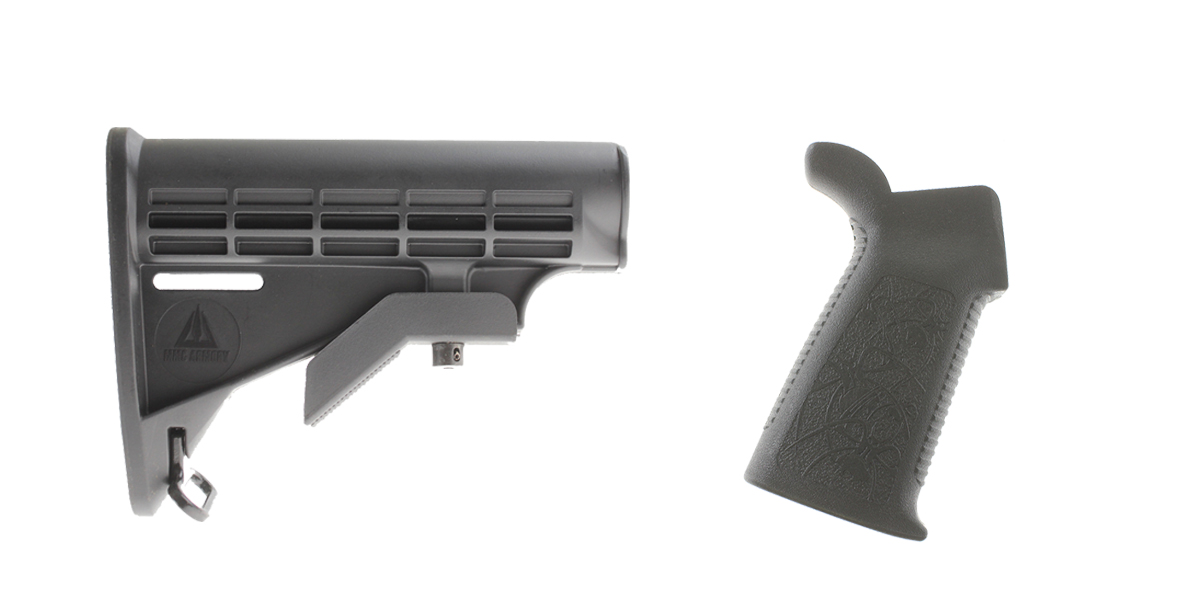 Custom Deal Stock and Pistol Grip Furniture Set: Featuring MMC Armory + Spike's Tactical