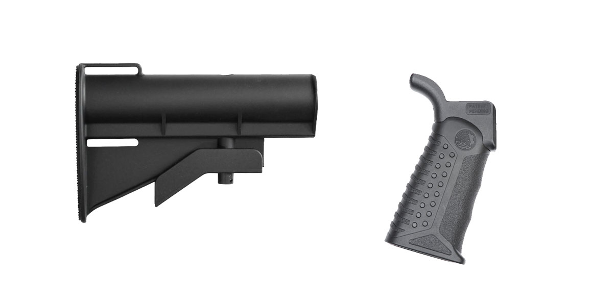 Custom Deal Stock and Pistol Grip Furniture Set: Featuring United Defense + Battle Arms Development