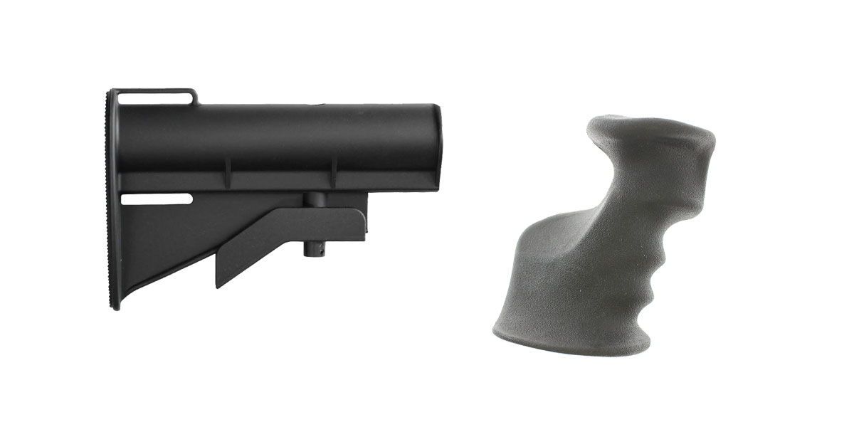 Custom Deal Stock and Pistol Grip Furniture Set: Featuring United Defense + JE Machine