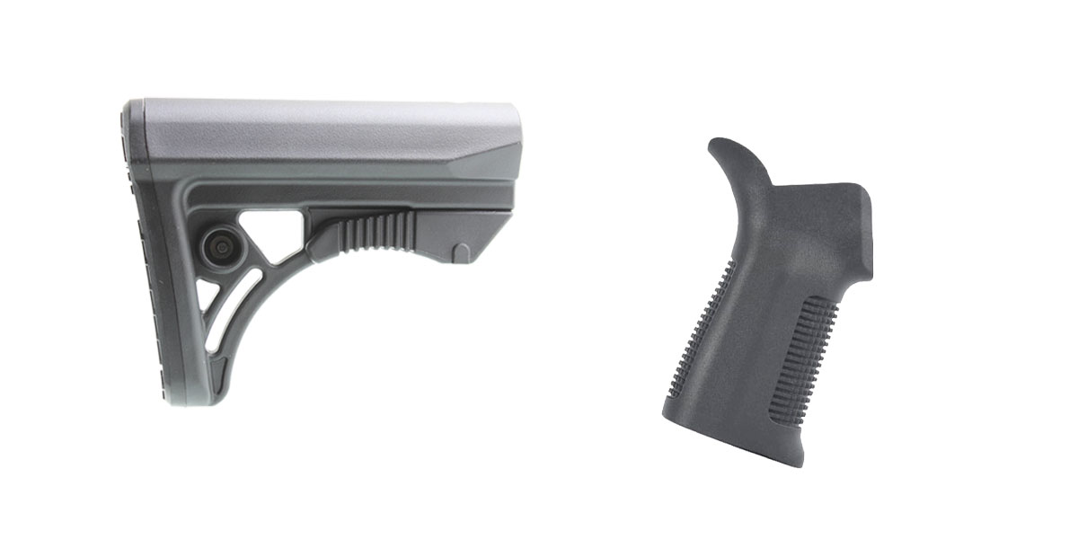 Custom Deal Stock and Pistol Grip Furniture Set: Featuring Leapers + United Defense