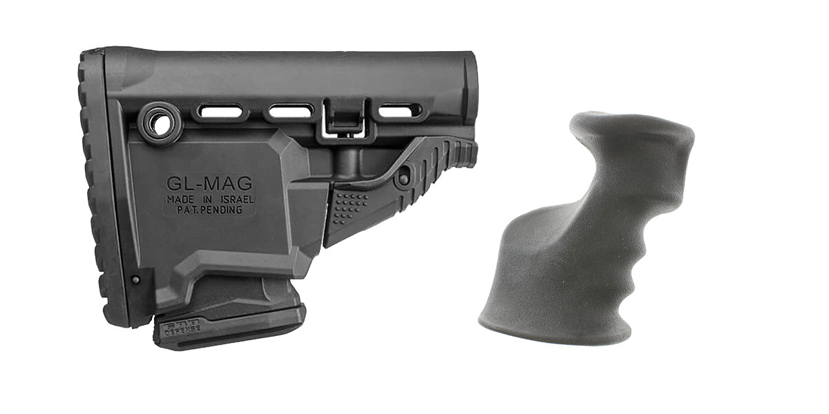 Combo Deal Stock and Pistol Grip Furniture Set: Featuring FAB Defense + JE Machine