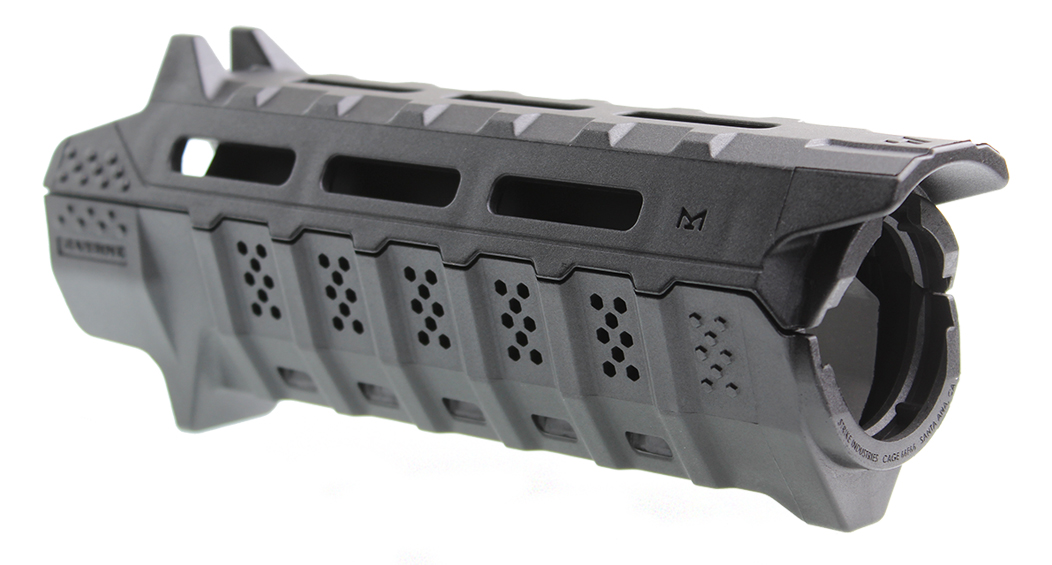 Strike Industries Drop-in Handguard Carbine Length - Black Heat Shield