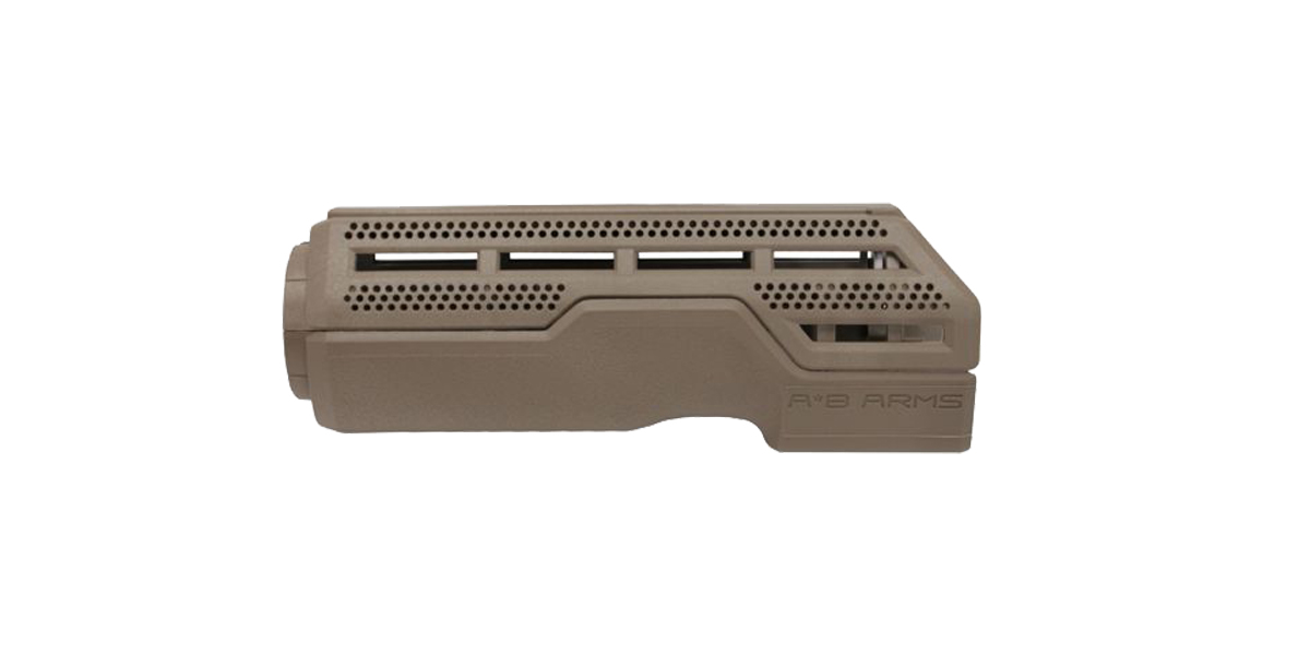 A*B Arms Pro Hand Guard Carbine Length 2 Piece Drop-in - FDE