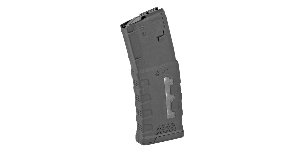 Mission First Tactical, MFT Window EXD 5.56/.223/.300 Polymer Magazine - 30rd Black