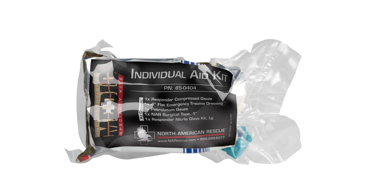 North American Rescue, Individual Aid Kit, Medical Kit