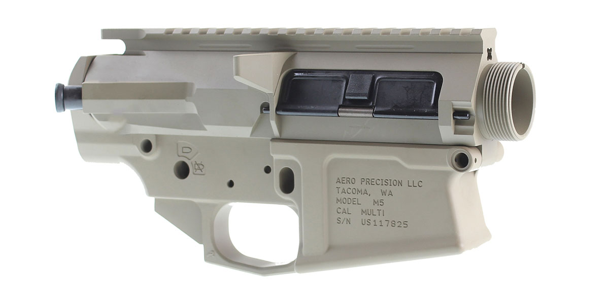 DD Custom Arms LR-308 Builder Set Featuring Aero Precision Lower Receiver, Davidson Defense Upper Receiver, Dust Door, and Forward Assist (Unassembled)