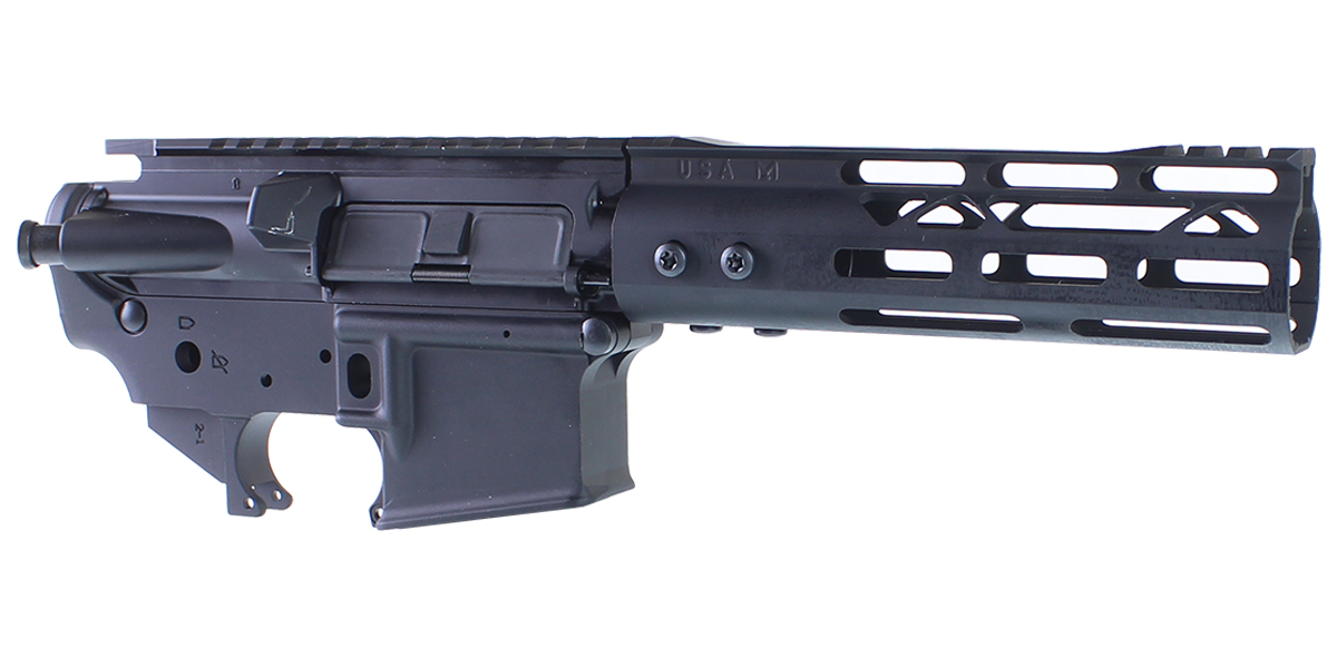 DD Custom Arms AR-15 Builder Set Featuring Davidson Defense Upper Receiver, An MMC Armory Lower Receiver, 7