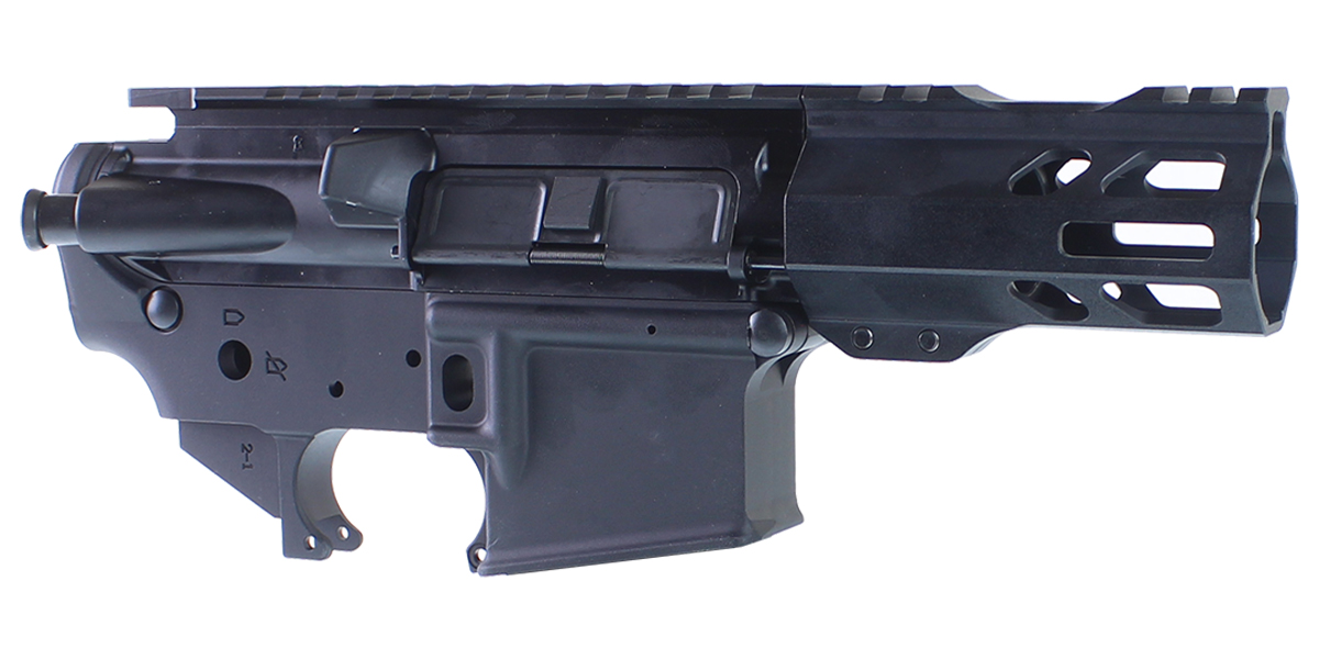 DD Custom Arms AR-15 Builder Set Featuring Davidson Defense Upper Receiver, An MMC Armory Lower Receiver, 4