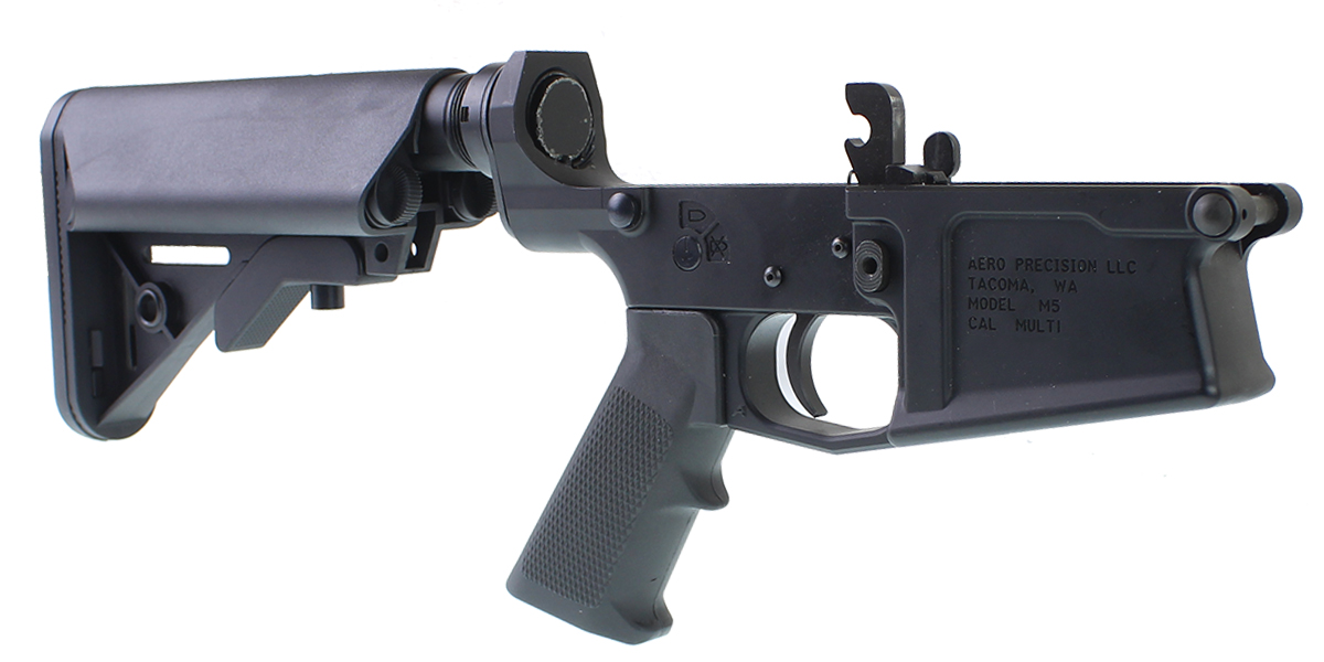 DD Custom Arms LR-308 Lower Receiver Build Kit Featuring Aero Precision M5 Lower Receiver Davidson Defense Sopmod Buttstock KAK Industries LR-308 LPK (Assembled or Unassembled)