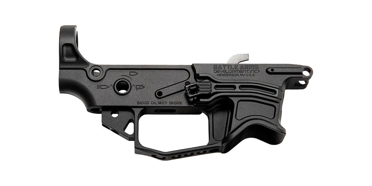 Battle Arms Development Billet Dedicated 9mm AR Lower Receiver Compatible with Glock Magazines