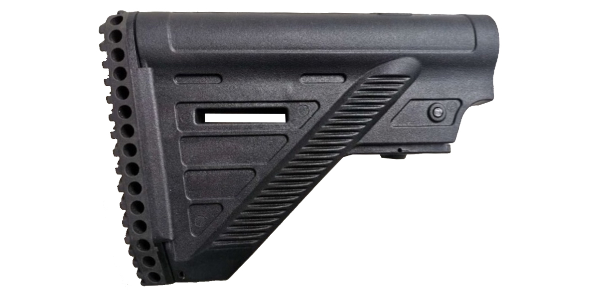 Lakota Ops AR-15 CQB Buttstock - Accepts Mil-Spec Buffer Tube