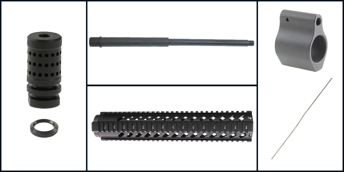 Custom Deal AR-15 Upper Starter Kit Featuring: 16