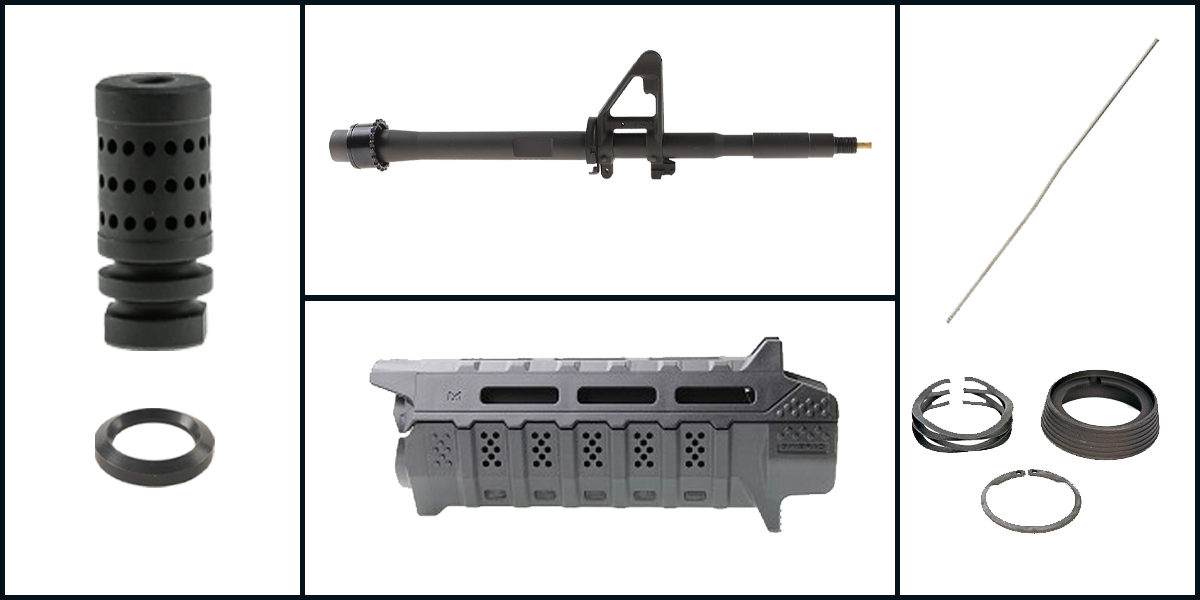 Custom Deal AR-15 Starter Kit Featuring: 14.5