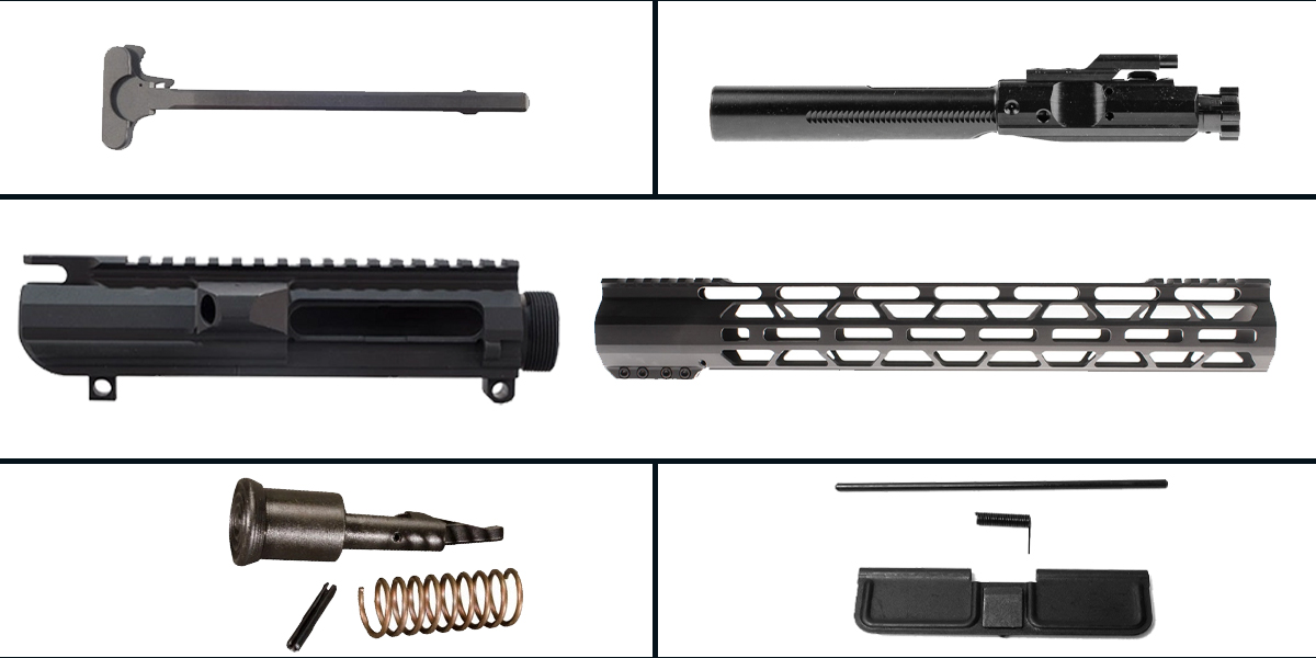 Custom Deal LR-308 Upper Build Starter Kit Featuring: Low Profile DPMS Upper Receiver, Low Profile 15