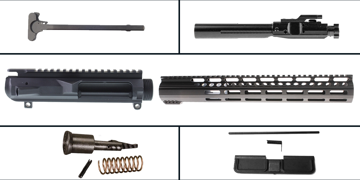 Custom Deal LR-308 Upper Build Starter Kit Featuring: Low Profile DPMS Upper Receiver, Low Profile 12
