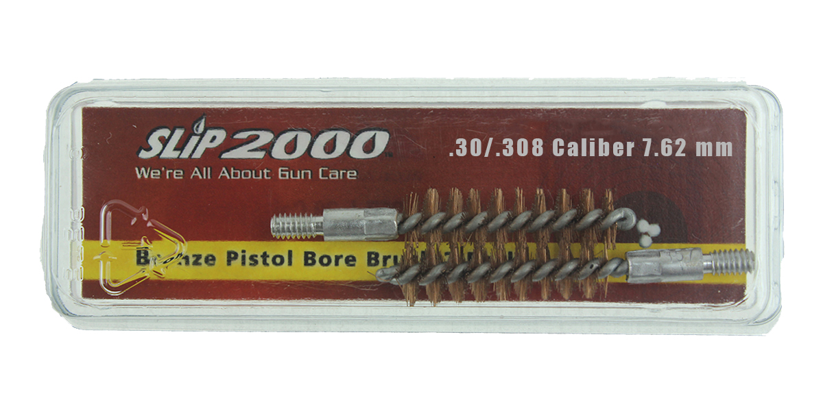 Slip 2000 2 Pack Bronze Bore Brush, .30/.308 Caliber, 7.62 mm Rifle