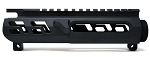 War Dogs Industries Skeletonized Stripped Upper Receiver - Black Cerakote