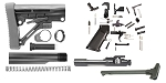 Combo Deal AR-15 Trinity Force Omega Stock Finish Your Build Kit