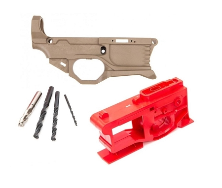 Polymer80 RL556v3 - FDE - 80% AR15 Polymer Lower with Jig and Bits