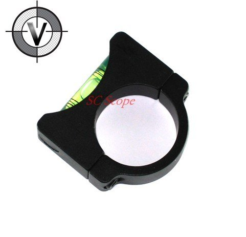 Vector Optics 30mm Bubble Leveler Scope Ring with 1