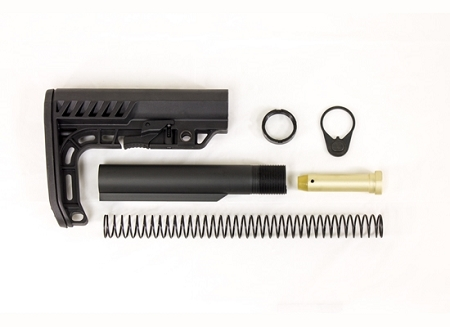 Lakota Ops Special Operations MIl-Spec Buffer Tube & Stock Kit Combo (Made in USA)