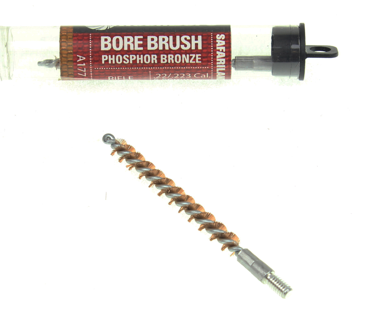 KleenBore .22 .223 Caliber 5.56mm Rifle Bore Brush - Phosphor Bronze - 2 Pack